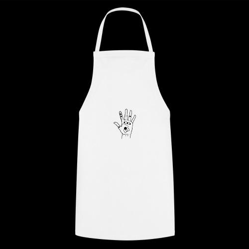 hand with symbols - Delantal de cocina