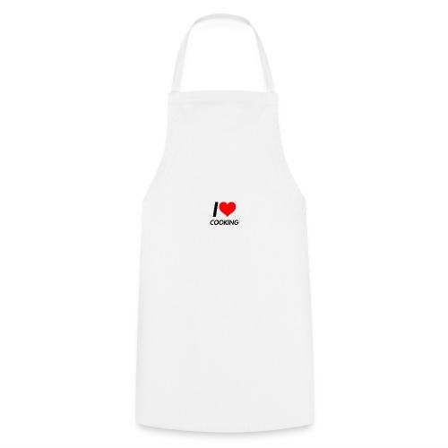 I LOVE COOKING - Keukenschort
