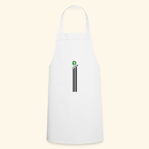 logo strepen - Keukenschort