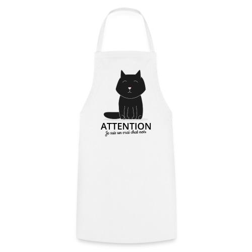 Chat noir - Tablier de cuisine