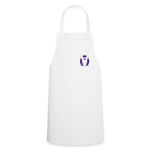 Logo Heneco Adelina violet noir - Tablier de cuisine