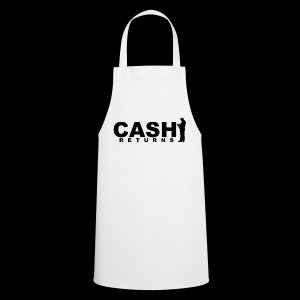 CASH RETURNS Logo (Black) - Cooking Apron