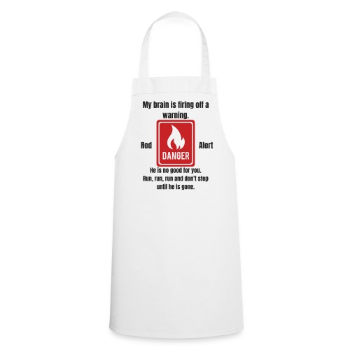 Red Alert | By ClareMarie - Cooking Apron