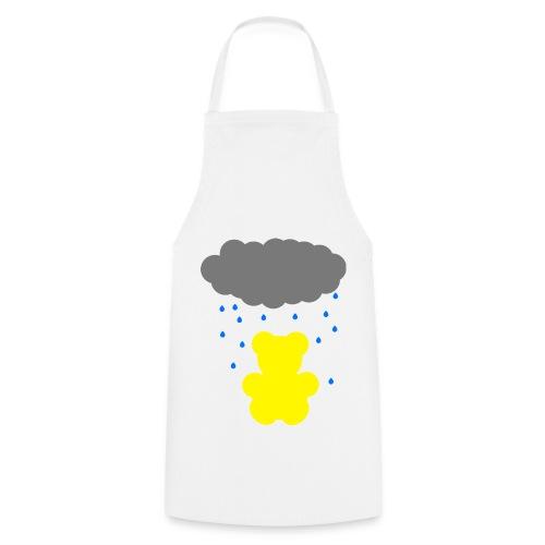 Carl im Regen | Teddy Geschenk Geschenkidee - Kochschürze