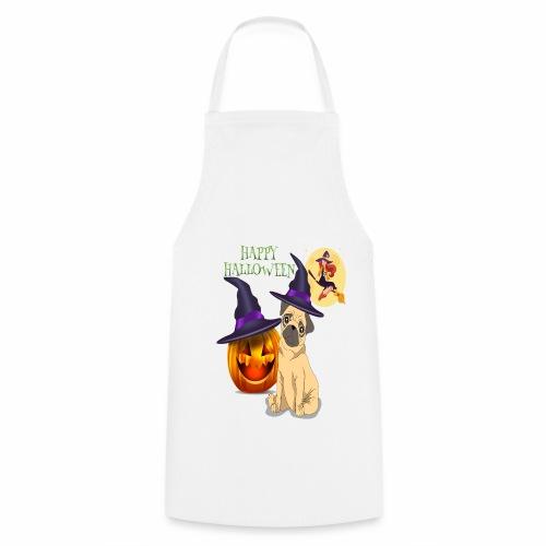 pug halloween - Tablier de cuisine