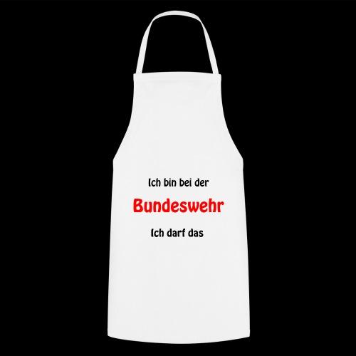 Ich bin bei der Bundeswehr - Ich darf das - Kochschürze