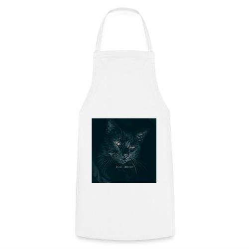 Schwarze Katze - Kochschürze