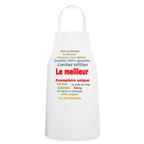 t shirt le meilleur sweat shirt coque et mugs - Tablier de cuisine