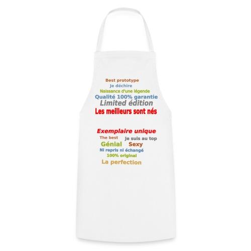 t shirt les meilleurs sont nés sweat shirt et mugs - Tablier de cuisine