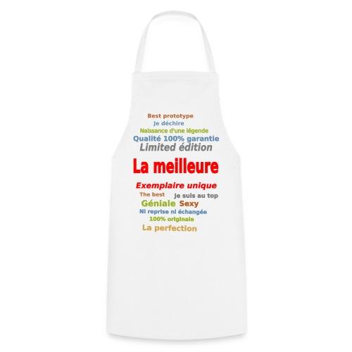 t shirt la meilleure sweat shirt coque et mugs - Tablier de cuisine