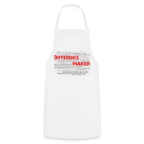 Difference Maker dunkel - Kochschürze