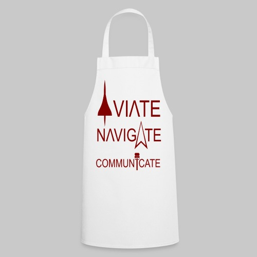 AVIATE - NAVIGATE - COMMUNICATE - Kochschürze
