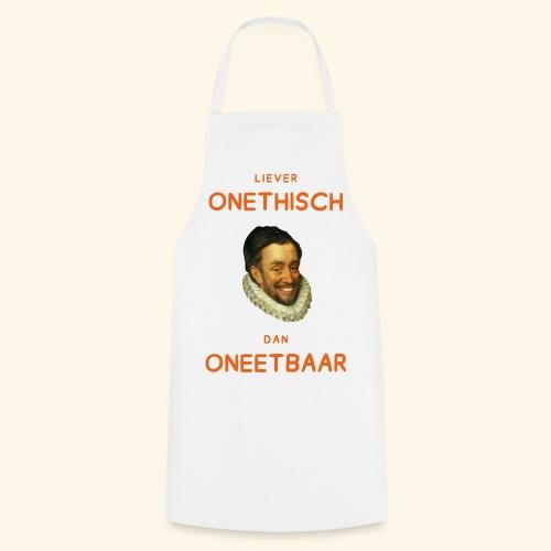 Liever onethisch dan oneetbaar - Keukenschort