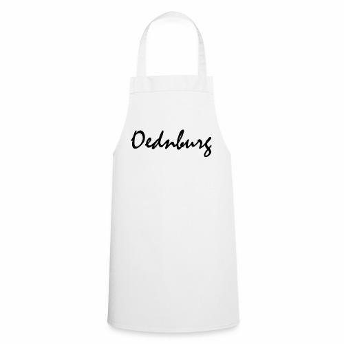 Oednburg Zwart - Keukenschort