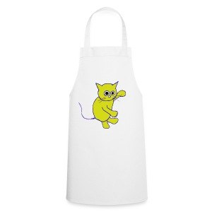 Hugo Puddlebucket Meow the cat - Cooking Apron
