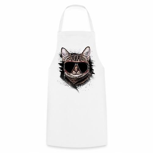 Krasse Taucher-Katze - Kochschürze