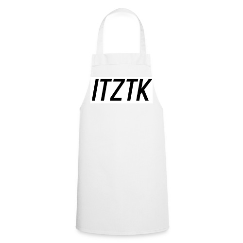 ItzTk black print - Cooking Apron