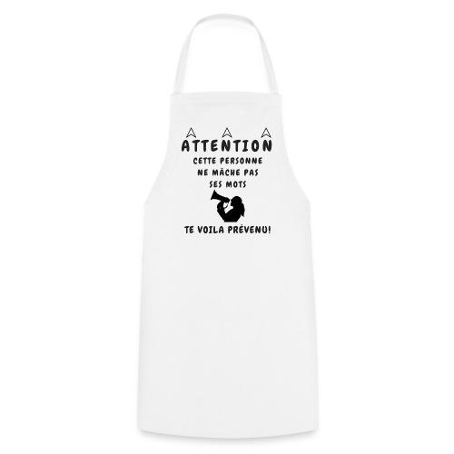 NE MACHE PAS SES MOTS - Tablier de cuisine