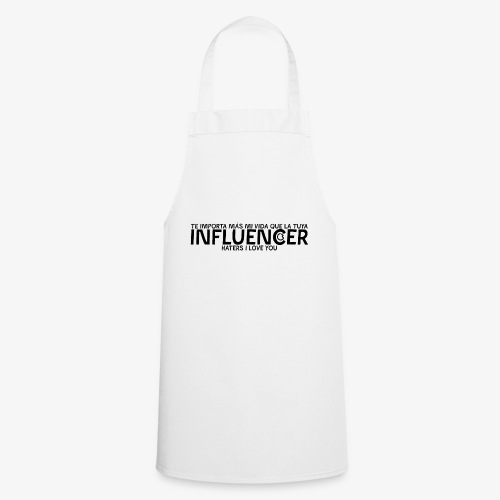 INFLUENCER (Black) - Delantal de cocina
