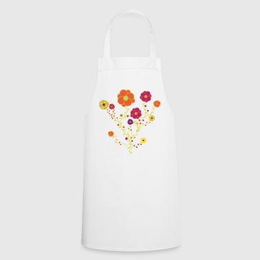 Fall Flowers - Cooking Apron
