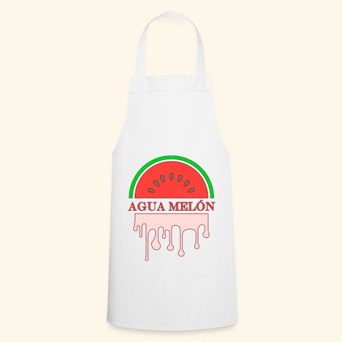 Agua Melón (melonvatten) - Förkläde