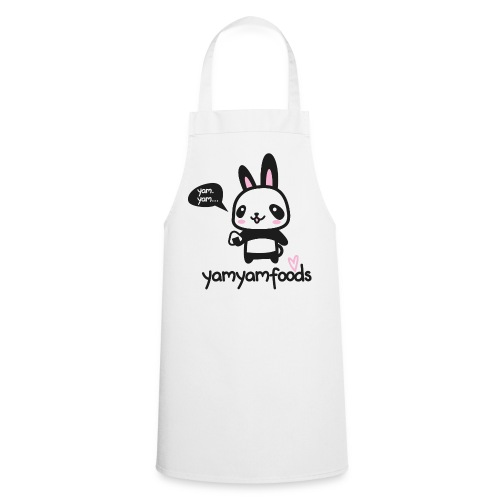 Panda-Hase mit Onigiri - Kochschürze