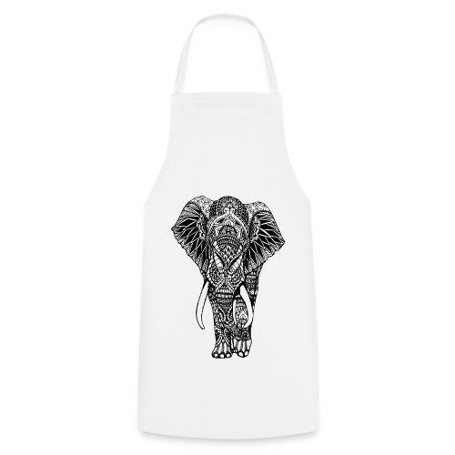Good Luck Mandala Elephant Designer Animal Love - Cooking Apron