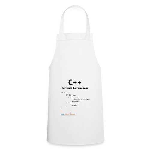 C++ Programmer's formula for success - Cooking Apron