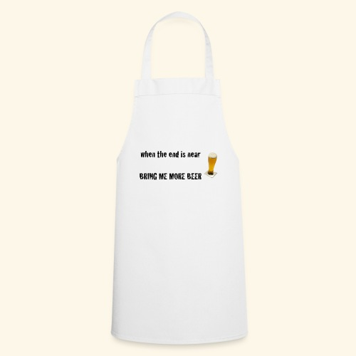more beer - Kochschürze