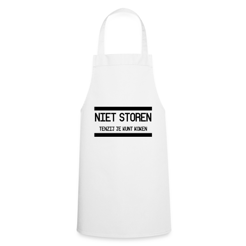 Niet storen - Keukenschort