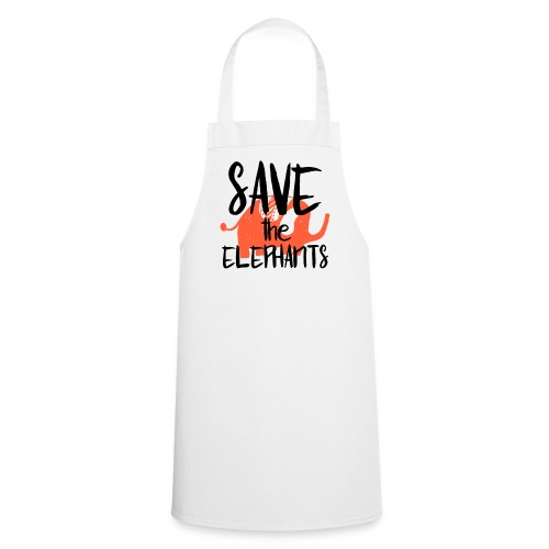 Save the Elephants - Cooking Apron