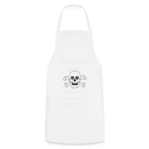Trompe la mort «rieur» Test animal FS - Tablier de cuisine