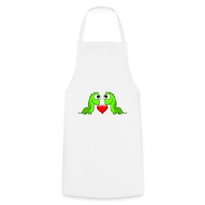 Dino herz mama - Kochschürze