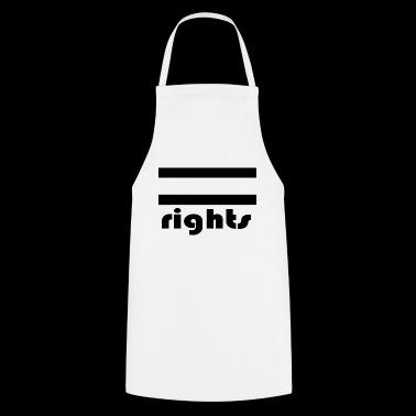Gelijke rechten - Keukenschort