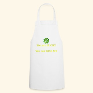 Funny St Patrick's day design - Cooking Apron