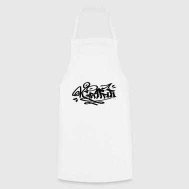 NERO Graffiti - Grembiule da cucina