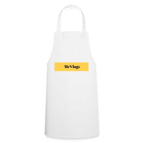 MrVlogs Cool Banner - Cooking Apron