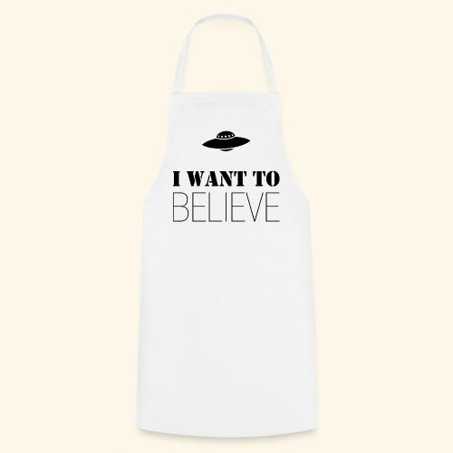 I Want To Believe - Delantal de cocina