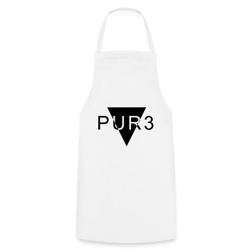 Pur3 grå hettegenser - Kokkeforkle