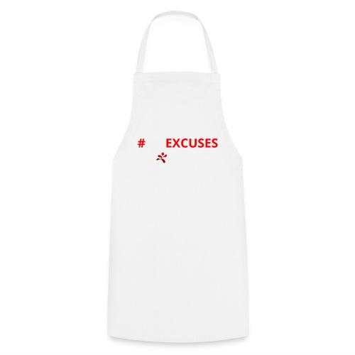 #NoExcuses - Kochschürze