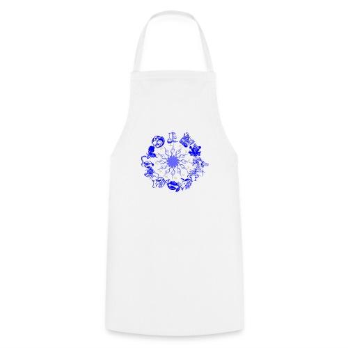 Sternzeichen kunstvoll - Kochschürze