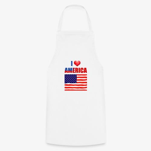 I LOVE AMERICA - Kochschürze
