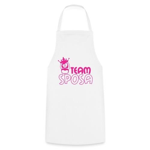team sposa - Grembiule da cucina