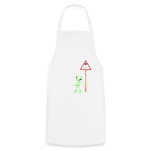 Achtung Alien Entführung - Kochschürze