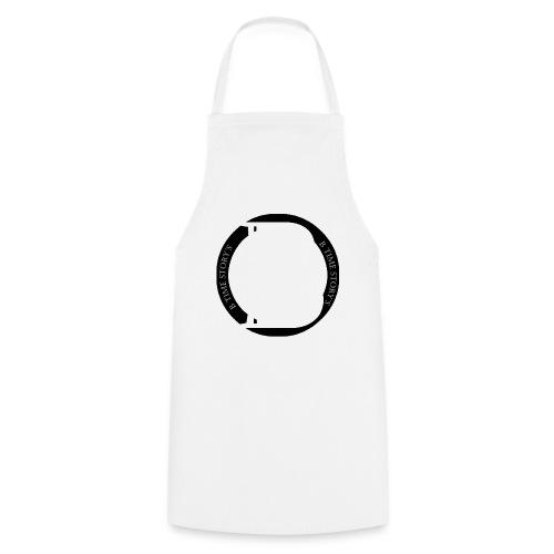 logo zwart - Keukenschort