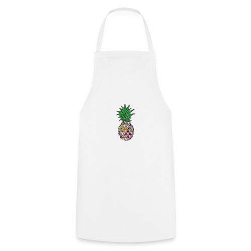 Moderne Ananas - Kochschürze