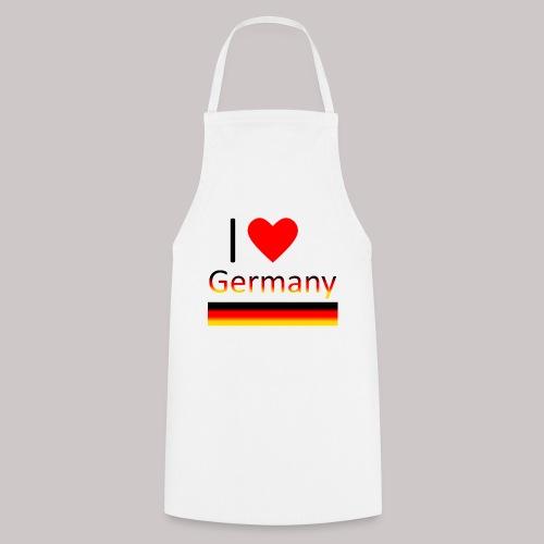 I love Germany - Ich liebe Deutschland - Kochschürze