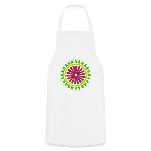 FLOWER MANDALA - Tablier de cuisine