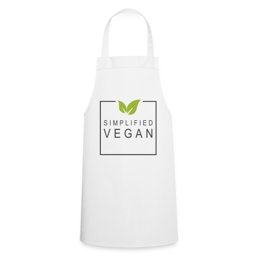 SIMPLIFIED VEGAN - Tablier de cuisine