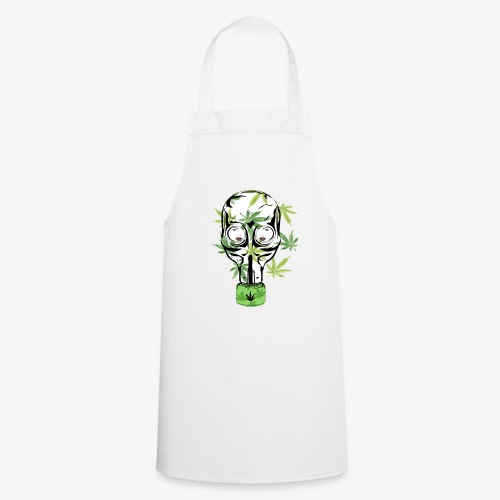 Cannabis stoner Gas mask - Cooking Apron